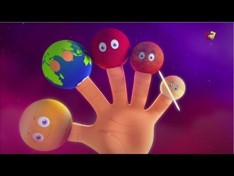 Gia đình Ngón Tay Hành Tinh | Bé Bài Hát | Bài Hát Mẫu Giáo | Planets Finger Family | Nursery Rhymes