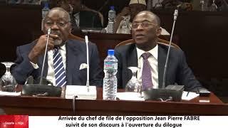 Jean-Pierre FABRE, chef de file de l'opposition à l'ouverture du dialogue inter-togolais 2018