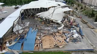 Dayton, Ohio Tornado -84 Lumber & Scene 75 Entertainment Center