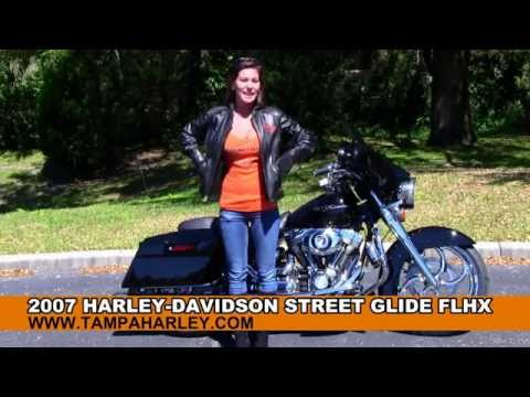 Used 2007 Harley Davidson Street Glide Motorcycles for sale in Huntsville AL