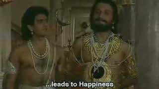 Боги развлекаются играя людьми словно фишками в игре в кости/Махабхарата/Диалог Бхишмы и Шантану.