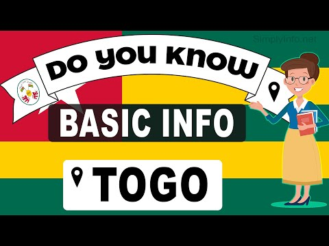 Do You Know Togo Basic Information | World Countries Information #175 - General Knowledge & Quizzes