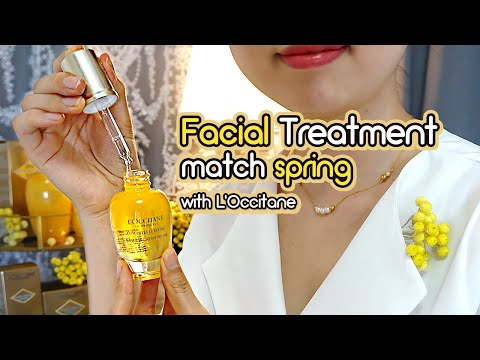 ASMR Facial SPA Treatment Match Spring🌻 Personal Attention
