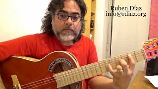 Harmonic features of the Scriabin scale (4) for a IVm minor chord (Paco de Lucia´s Style)Ruben Diaz
