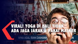 Yoga Masal Tanpa Masker Di Bali , WNA di Amankan Keimigrasian