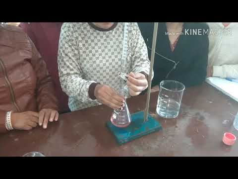 Estimation Of Calcium And Magnesium In A Given  Water Sample