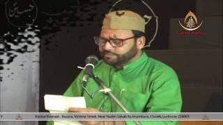 Masroor Mehdi | Majlis-e-Chelum Late Mahmood Hasnain | Imambara Chaudhary Sb,. Sitapur | 2017-18