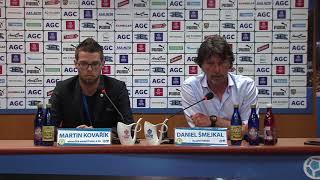 Tisková konference domácího trenéra po utkání Teplice - Brno (13.5.2018)