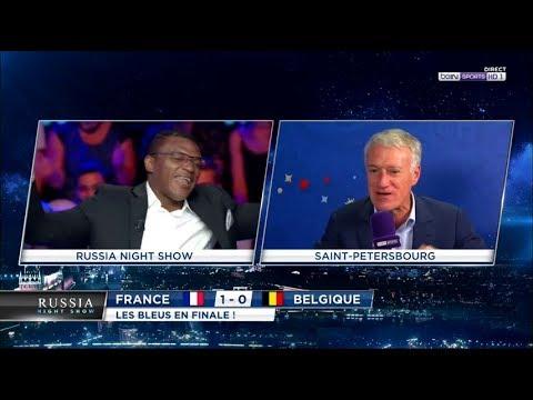 """""""Parle normalement !"""" : Didier Deschamps chambre Marcel Desailly"""