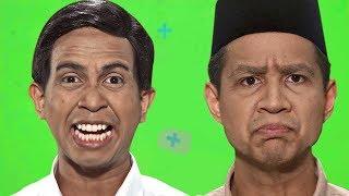 Prabowo VS Jokowi - Epic Rap Battles Of Presidency (Green Screen Cut)