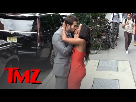 'Bachelorette' Rachel Lindsay's PDA with Fiance Bryan Abasolo, All for the Cameras | TMZ