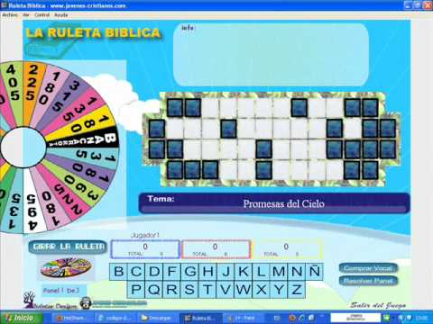 Juego Cristiano Para Pc Ruleta De La Fortuna Biblica Youtube