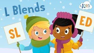 Phonics Blends For Kids | BL, CL, Gl, SL, FL | Consonant Blends | Kids Academy