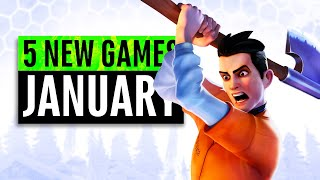 5 New Games January 2020  Including A Free Game