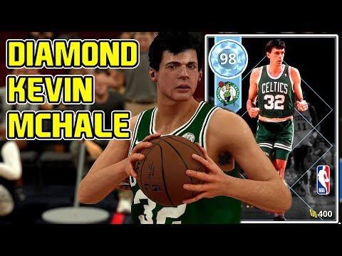 DIAMOND KEVIN MCHALE GAMEPLAY! BEST VALUE POWER FORWARD! NBA 2k18 MYTEAM