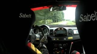 Paddon high speed spin Rally France