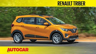 Renault Triber - Compact 7-seater | Preview & First Look | Autocar India
