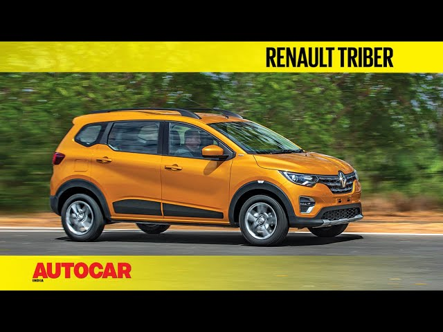 Renault Triber - Compact 7-seater   Preview & First Look   Autocar India