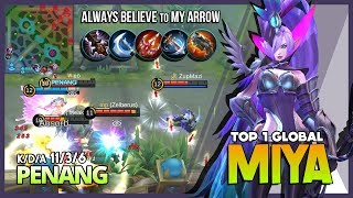 There is no Reason to Give up! Comeback Modena Butterfly by PENANG Top 1 Global Miya ~ MLBB