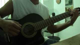 Frank Black - Dog in the sand acoustic guitar cover