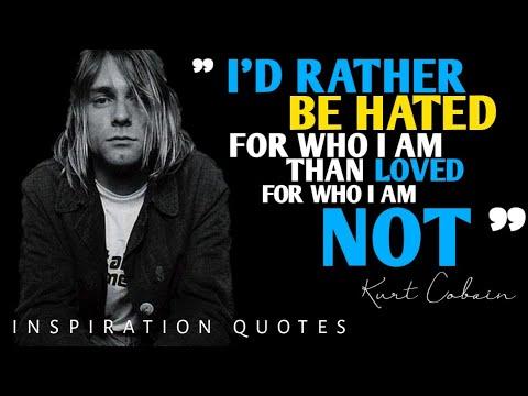 Petikan Kata Kata Kurt Cobain Di Sepanjang Hidupnya