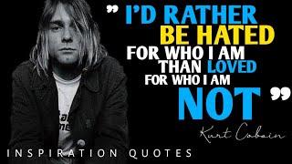 Kurt Cobain | Petikan kata-kata dari vokalis Nirvana di sepanjang hidupnya
