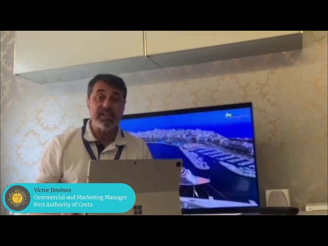 MedCruise member Víctor Jiménez, Commercial and Marketing Manager at Port Authority of Ceuta