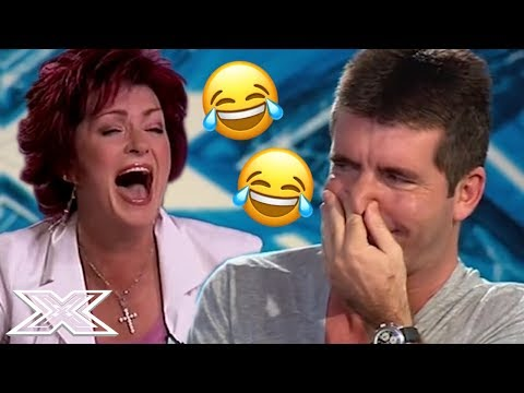 TOP 5 FUNNIEST X Factor UK Auditions - Back To The NOUGHTIES | X Factor Global