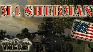 World of Tanks ///  M4 Sherman - Ace Tanker, Top Gun