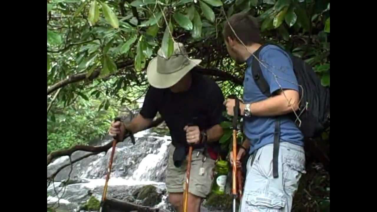 Hiking Flat Creek Falls - YouTube