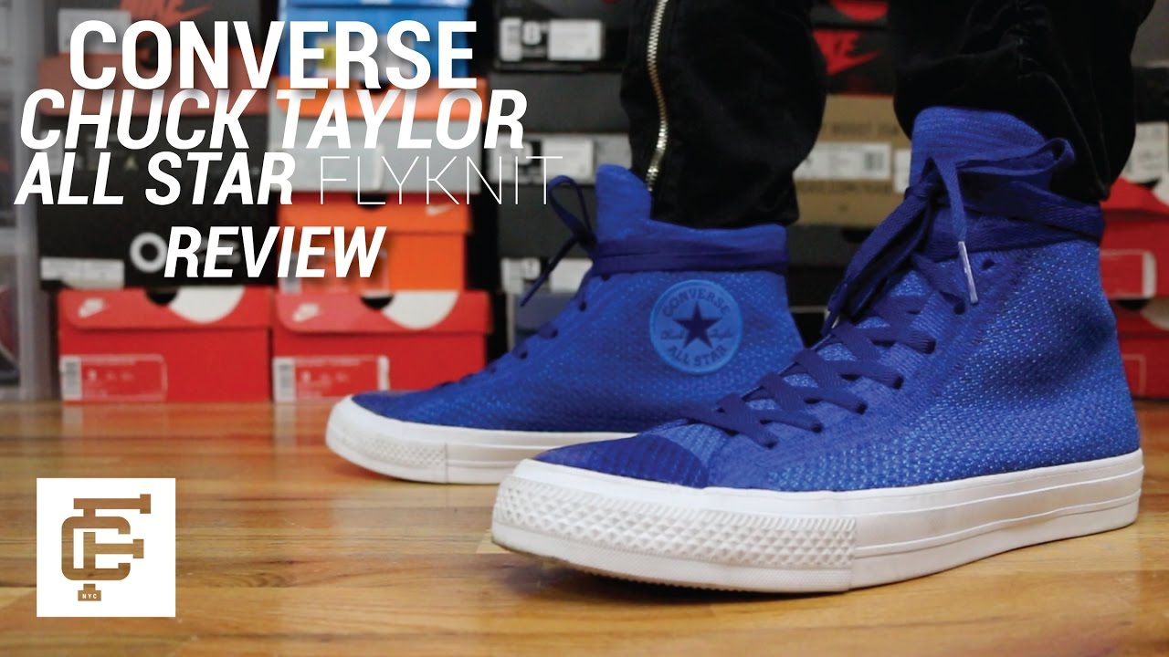 4d6e1153eb892f CONVERSE CHUCK TAYLOR ALL STAR FLYKNIT HI REVIEW - YouTube