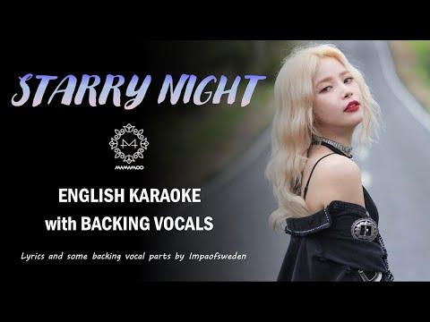 MAMAMOO - STARRY NIGHT - ENGLISH KARAOKE indir