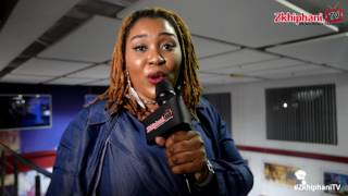 Lady Zamar on her album KING ZAMAR