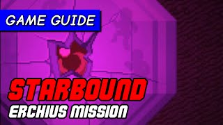 How to beat Starbound Erchius Mining Facility mission & kill Erchius boss | Game Guide