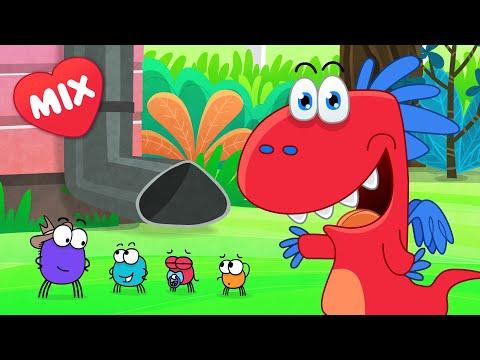 Piosenki Dla Dzieci Smoka Edzia - Prawie 1 Godzina