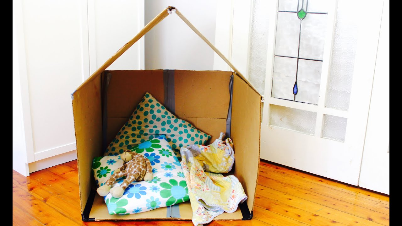 Easy Diy Headboard Easy Cubby Idea How To Make A Collapsible Cardboard Cubby