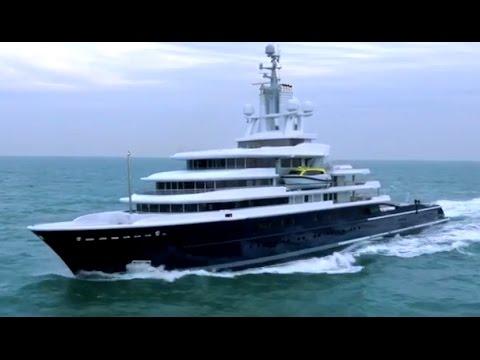The Superyacht Dream My Luna My A My Ice 5 My Aviva