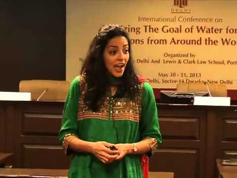 Sharmila Murthy: Re-Examining Water and Ethnic Conflict in Central Asia