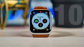 Apple Watch Series 4 - 10 TIPS & TRICKS!