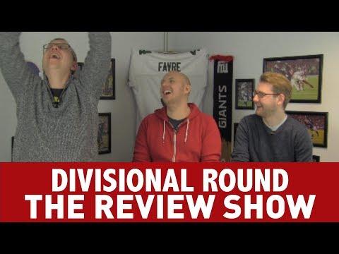 NFL DIVISIONAL ROUND REVIEW: EAGLES, PATRIOTS, JAGUARS & VIKINGS ADVANCE!