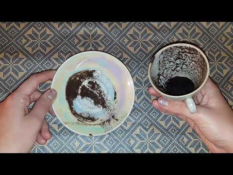 Гадание на кофе Любовь Деньги Семья Чашка дня