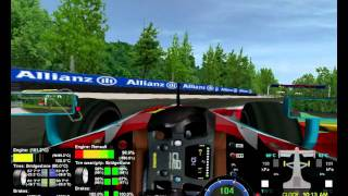 Rfdynhud rfactor plugin - test f1 mallorca gp2 interligas