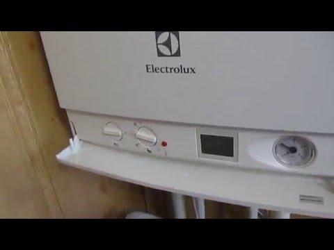 настройка газового котла Электролюкс ( Electrolux). Установка диапазонов температур. чтоб сильно не