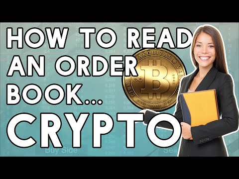CRYPTO! How To Read An Order Book!
