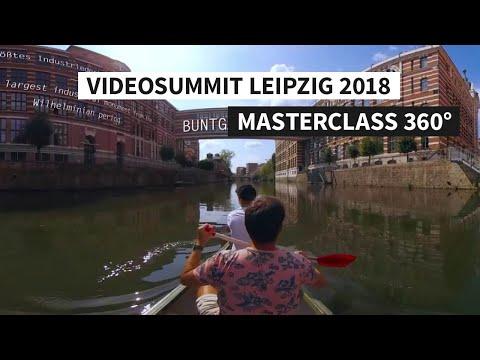 Masterclass 360° Videosummit Leipzig 2018