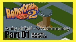 Roller Coaster Tycoon 2 (PC) - [Amity Airfield - 1]