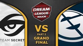 Secret vs EG Grand Final Leipzig Major 2020 DreamLeague 13 Highlights Dota 2 - [Part 2]