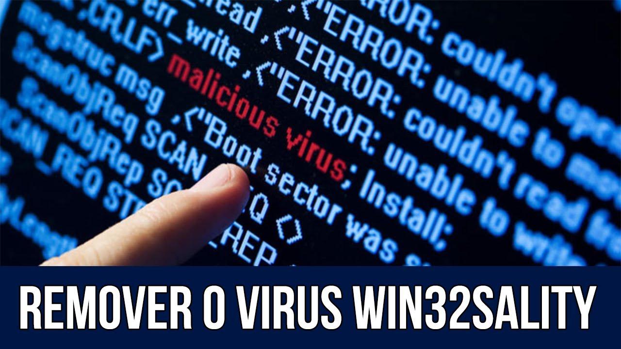 Como remover o virus (WIN32 SALITY) muito facil !!