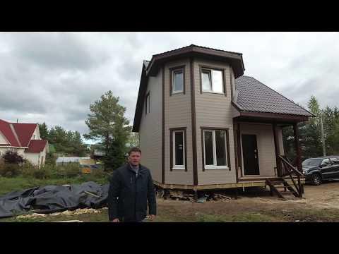 Каркасный дом для ПМЖ в Ленинградской области от KarkasHaus