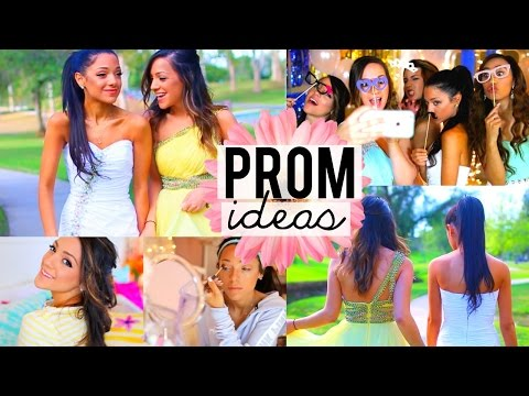 Thumbnail: PROM 2015! Beauty Tips, Hairstyles, Dresses, Photo Ideas + more!!